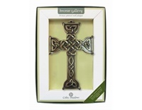 Image for Celtic Love Cross Bronze Plaque