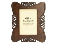 Image for Island Craft 5X7 Carved Knotwork Photo Frame