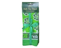 Image for Dancing Shamrocks Irish Tea Towel
