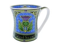 Image for Scottish Thistle Celtic Window Mug