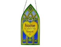 Image for Home Is Where The Heart Is Gothic Stained Glass