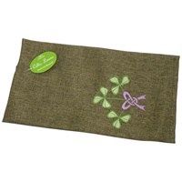 Image for Single Tea Towel with Shamrock Bouquet