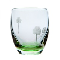 Image for Irish Handmade Shamrock Whiskey Tumbler