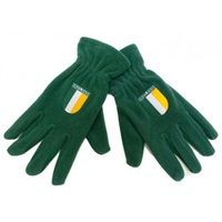Image for Donegal Bay Irish Fleece Gloves with Flag