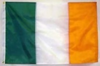 "Image for Irish Flag with Grommet - 12"" x 18"""