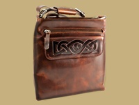 Image for Mary Ladies Leather Celtic Day Bag