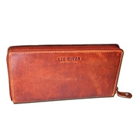 Image for Roisin Ladies Large Leather Wallet, Tan by Lee River
