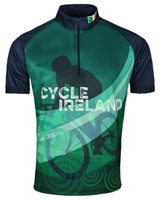 Image for Cycle Ireland Cycling Jersey Navy