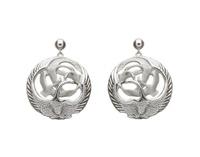 Image for Silver Children of Lir Drop Earrings