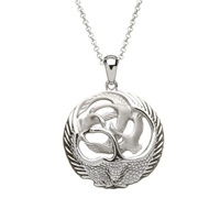Image for Silver Children of Lir 3D Pendant-Small
