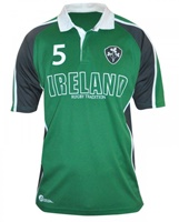Image for Croker Green Panelled Ireland Rugby Jersey