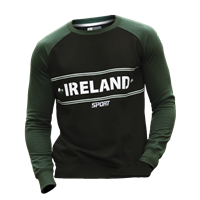 Image for Croker Green and Black Kids Crew Neck