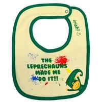 "Image for Color Splash ""The Leprechauns Made Me Do It"" Bib"