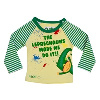 """Image for """"Leprechauns Made Me Do It"""" Long Sleeve Tee"""