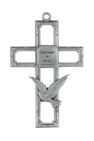 "Image for 6"" Pewter Confirmation Cross"