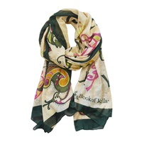 Image for Patrick Francis Book 0f Kells Enlightment Scarf - Multi