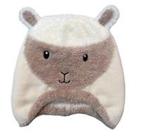 Image for Cream Kids Sheep Hat