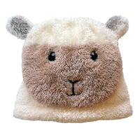 Image for Cream Baby Sheep Hat