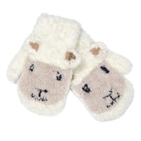 Image for Cream Sheep Baby Mittens