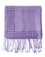 Image for Patrick Francis Book of Kells Wisteria Pashmina Scarf