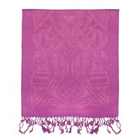 Image for Patrick Francis Magenta Pink Wool Scarf