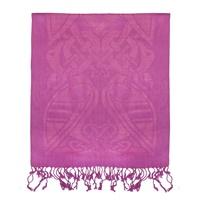 Image for Patrick Francis Magenta Pink Wool Scarf