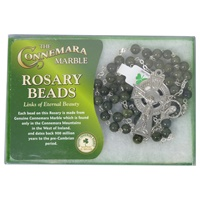 Image for Connemara Marble Rosary Beads Links of Eternal Beauty