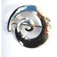 Image for Handcrafted Scroll Brooch