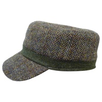 Image for Hanna Hat Railway Cap Tweed