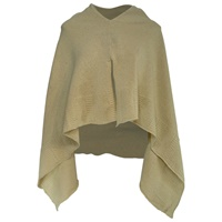 Image for Irish Linen and Cotton Cape, Mist