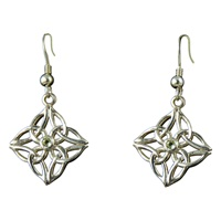 Image for Gráinne Earrings Set with Peridot Center