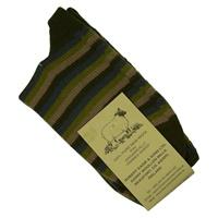 Image for Kerry Woollen Mills Organic Wool Socks, Multi Stripe