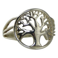 Image for Tree of Life Sterling Silver Ring
