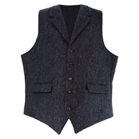 Image for John Hanly Irish Tweed Waistcoat | Irish Vest, H27