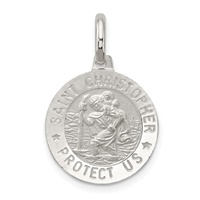 Image for St Christopher Medal, Small Round