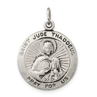 Image for Saint Jude Thaddeus Medal, Medium Round
