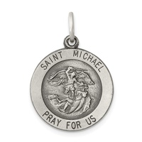 Image for Saint Michael Medal, Medium Round