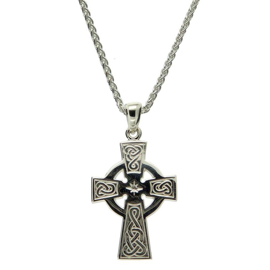 Sterling Silver Cross Medium celtic New
