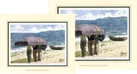 Image for Ireland Remembered-The Currach, Double Matted Print