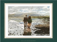 Image for Ireland Remembered-Romancing on the Atlantic, Double Matted Print