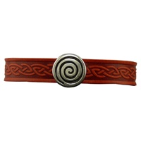 Image for Spiral Single Magnetic Cuff, Red Leather