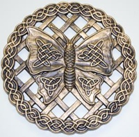 Image for Celtic Butterfly Stepping Stone