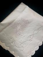 Image for Scalloped Edge Christening Blanket