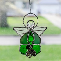 Image for Wee Glass Angel Suncatchers