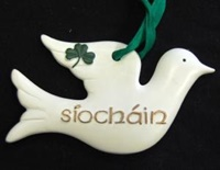 Image for Siochain Dove Ornament