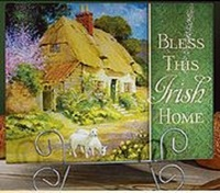 Image for Bless This Irish Home Cutting Board