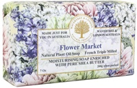 Image for Flower Market  French Triple Milled Soap