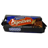 Image for McVities Digestives Dark Chocolate 266g
