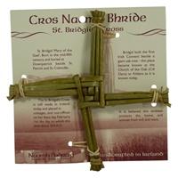 "Image for Small St Brigid Cross Woven Rush 6"""