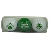 Image for Irish Smile with Mulligan Variety Golf 3 Balls Gift Set